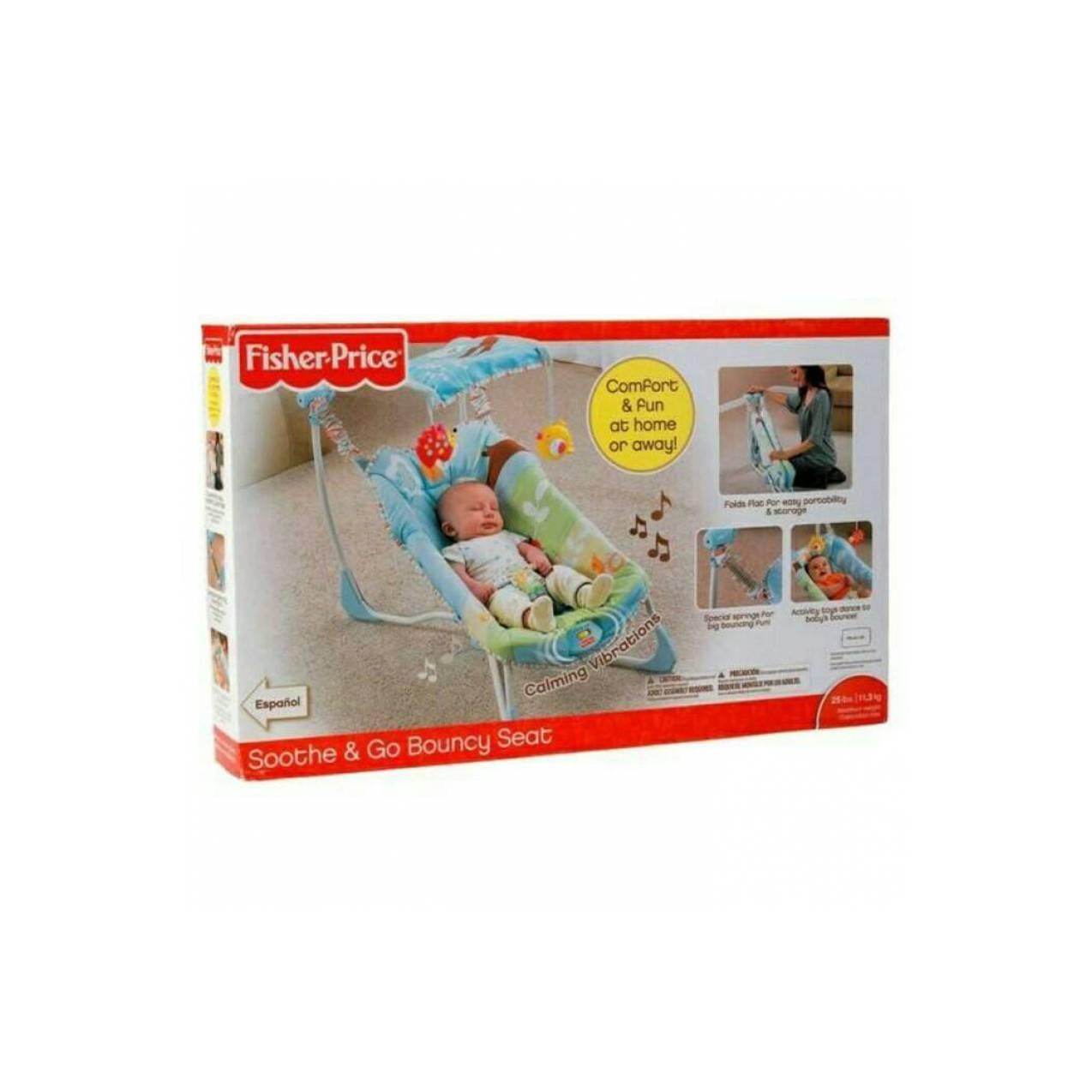 Fisher Price Soothe & Go Bouncy Seat