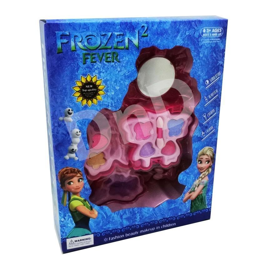 Mainan Anak - Frozen Make Up Butterfly Kupu Kupu Makeup 3 Susun Dandan