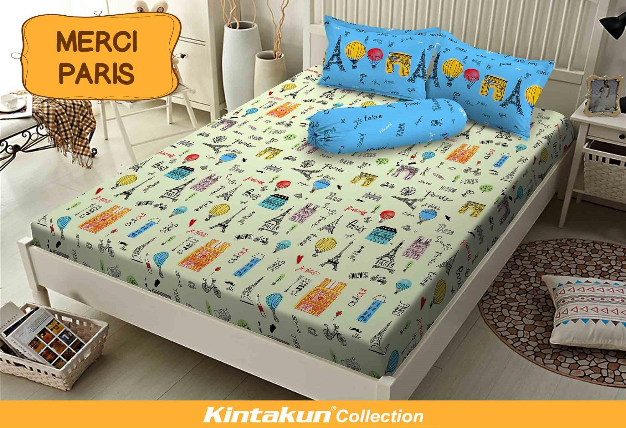 Kintakun Dluxe Sprei Single 120x200 cm - Merci Paris