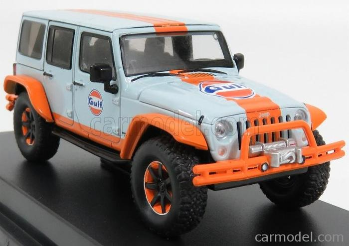 TERLARIS Greenlight 1:43 2015 Jeep Wrangler Unlimited Gulf
