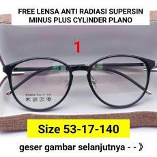 Frame Kacamata 8806 Kacamata baca kacamata bulat kacamata minus   plus  cylinder  kacamata anti radiasi 2a2e7eff34