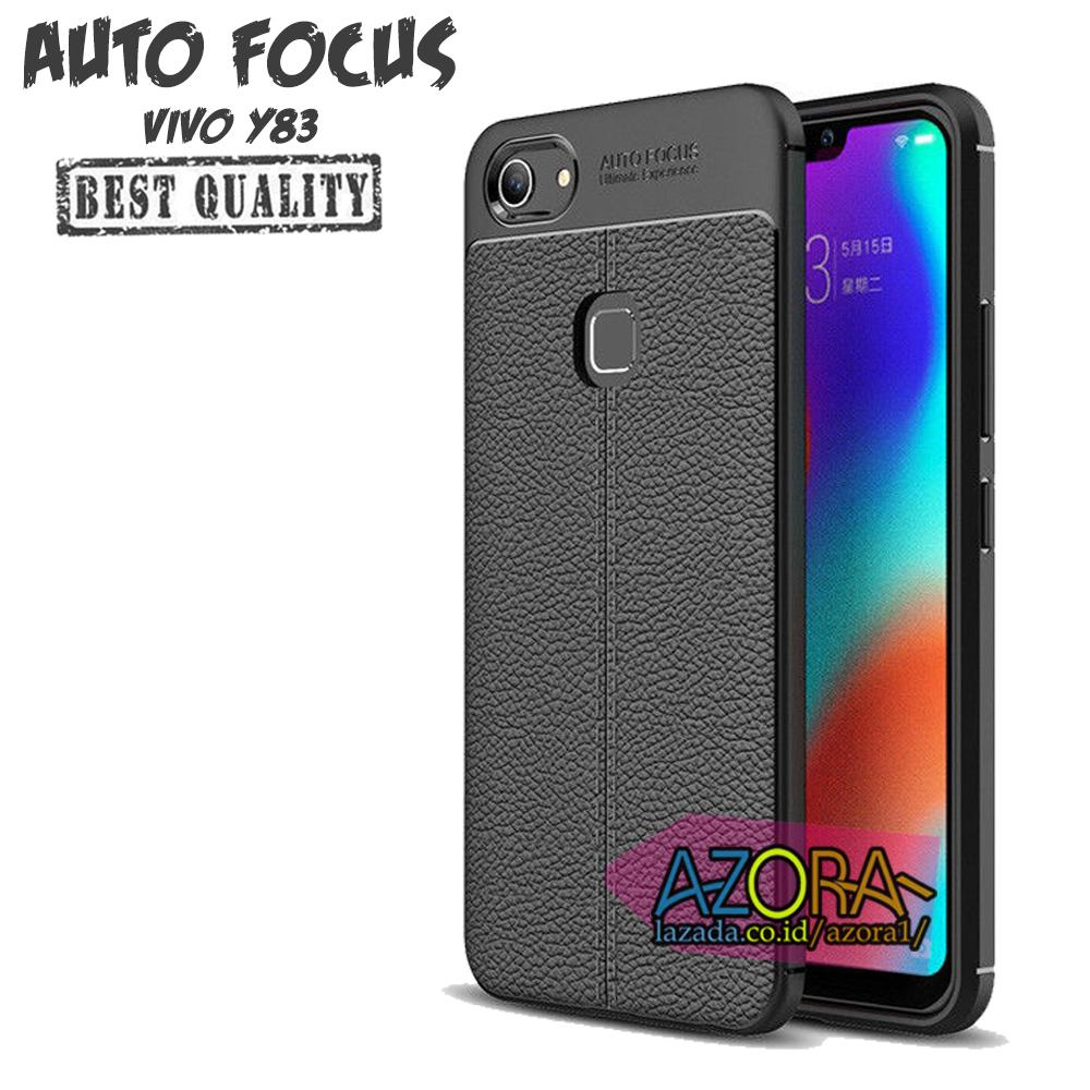Case Auto Focus Vivo Y83 Leather Experience Slim Ultimate