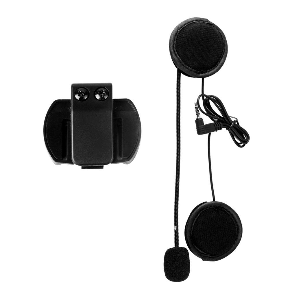 V4/V6 HDD SAS Helm Klip Interkom untuk Sepeda Motor Perangkat Bluetooth