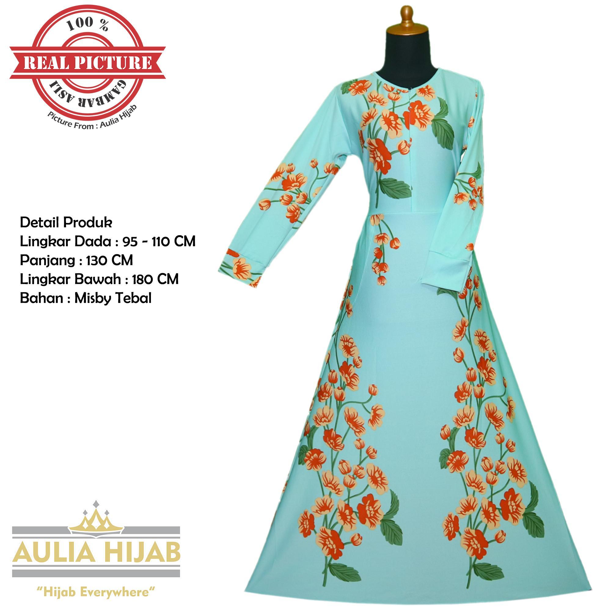Aulia Hijab - Gamis Khalisa Dress Terlaris Bahan Misby/Gamis Murah/Gamis Terbaru/Gamis Cantik/Gamis Busui/Gamis Pesta/Gamis Santai/Gamis Kerja/Gamis Murah/Gamis Real Picture/Gamis Best Seller