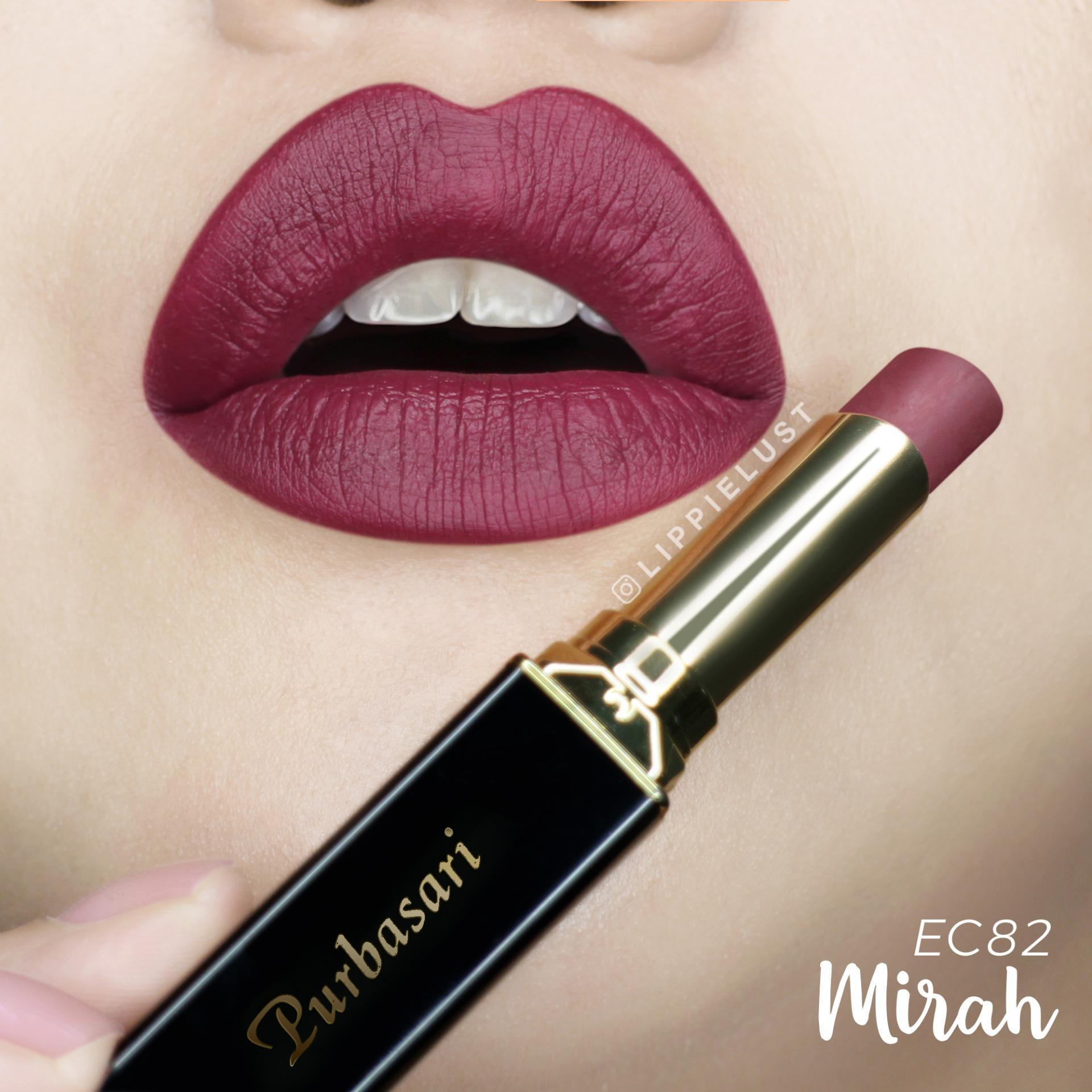 Purbasari Lipstick Collor Matte 82