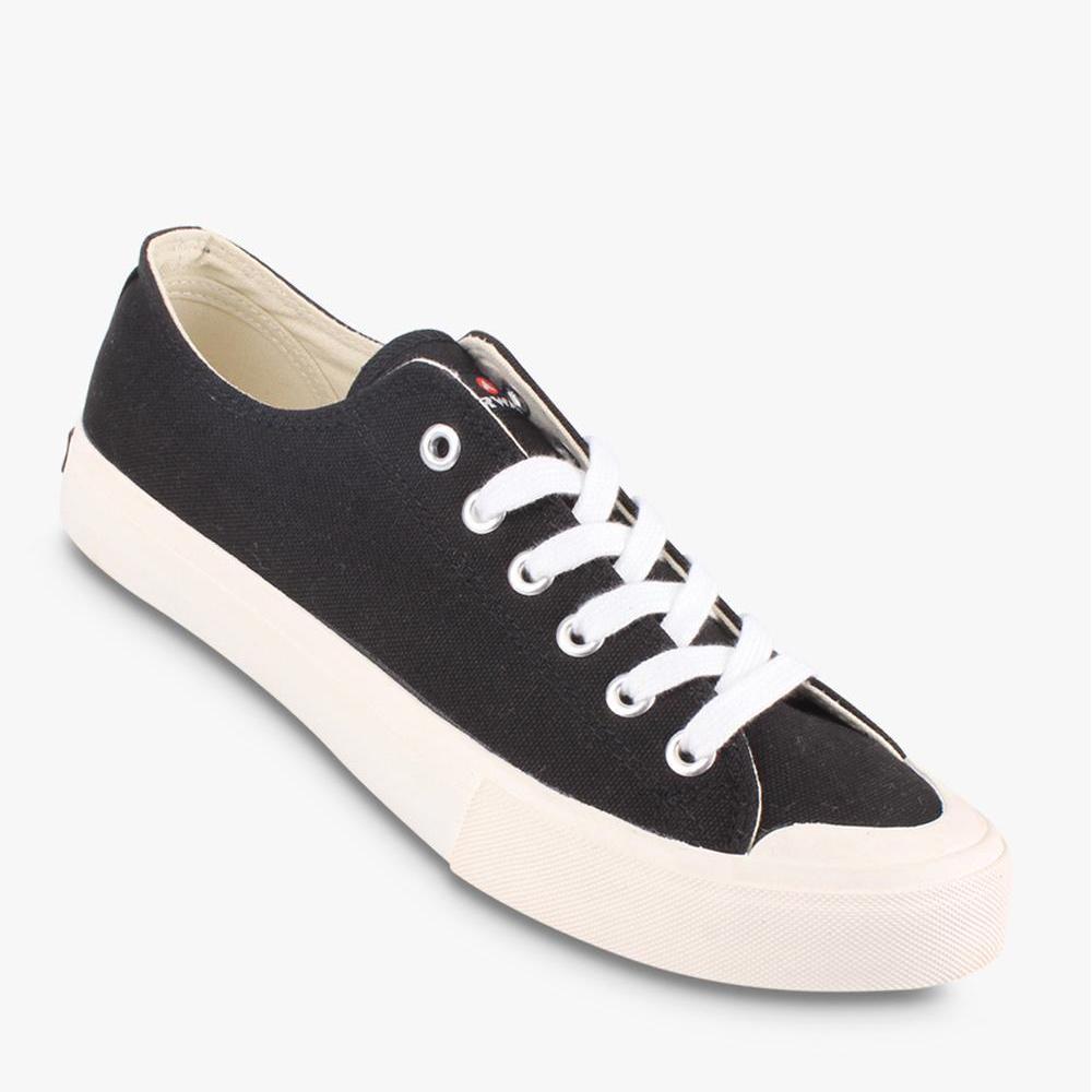 Airwalk New Basic Canvas Sepatu Sneakers Pria - Hitam - BTS 59f0e363ad