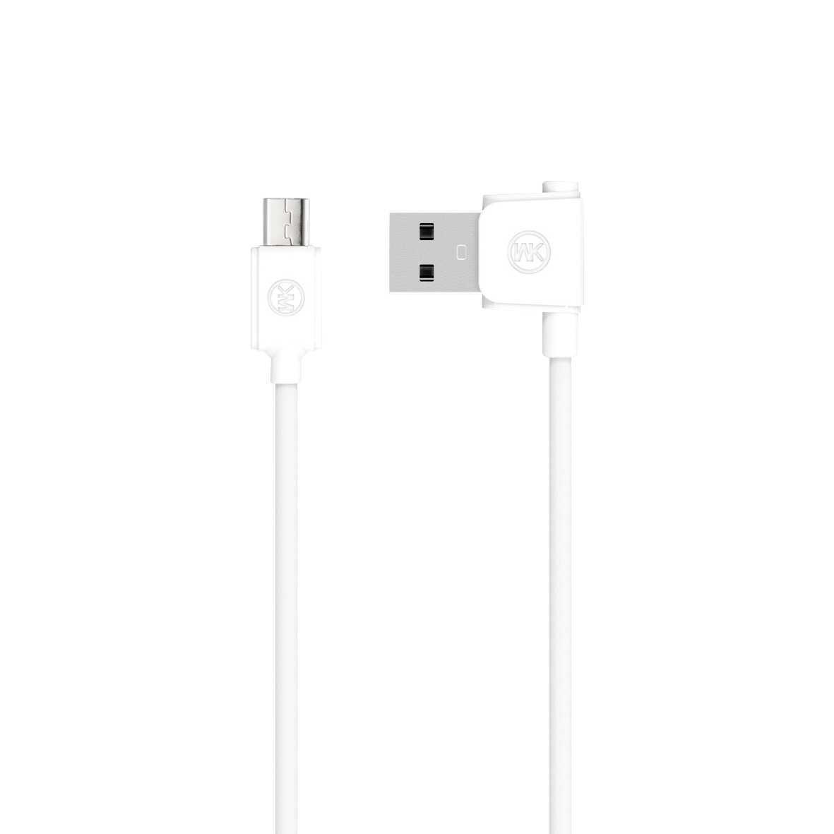 WK Junzi Kabel Micro USB ORI Putih UA0LWH - 04