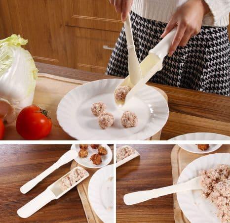 PROMO Alat Cetak Bakso Bakwan / Pencetak Daging / MeatBall Maker Mold - X422 TERLARIS
