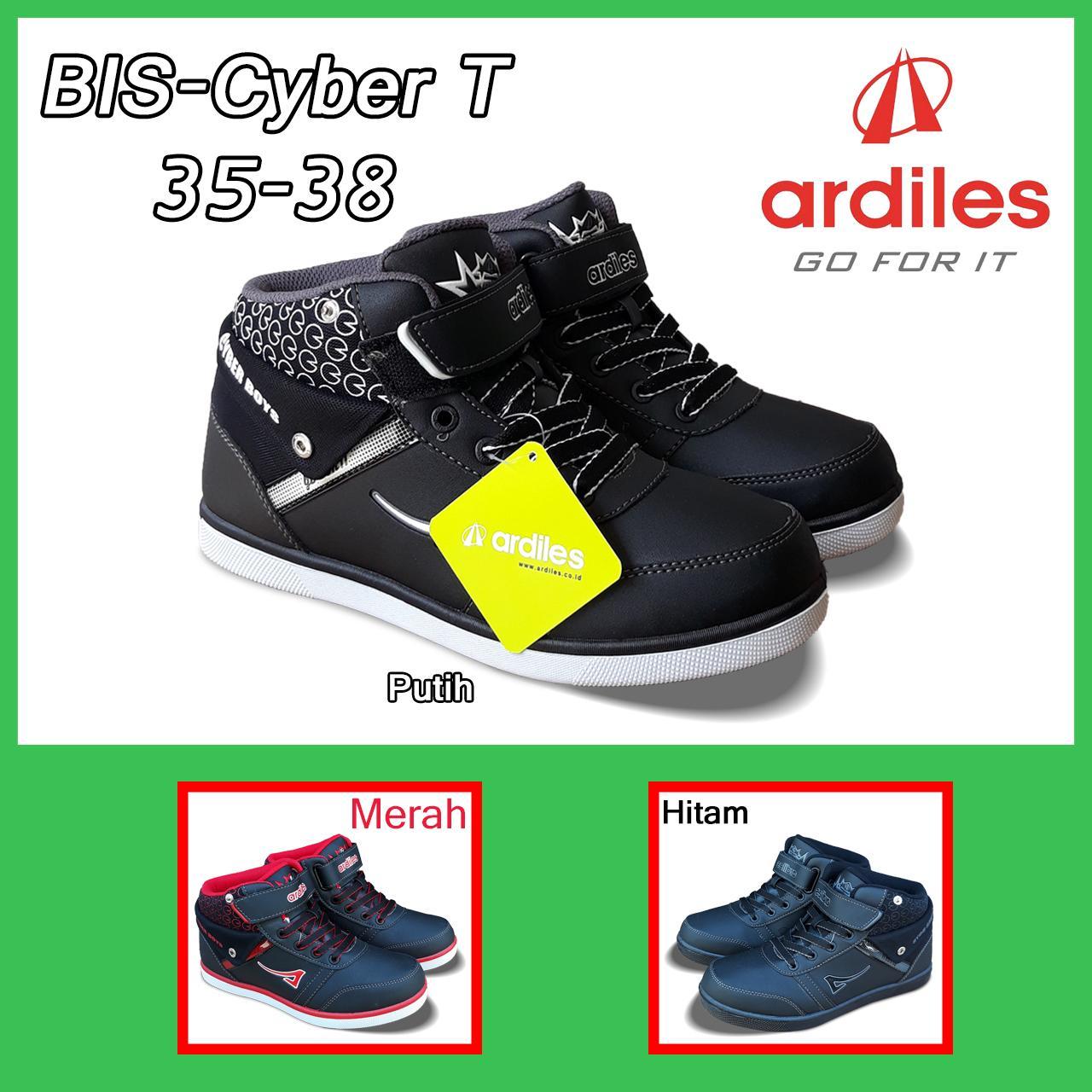 Jual Sepatu Ardiles Anak Laki Adidas Anaksepatu Sekolah Bosmuda Cyber T 35 38
