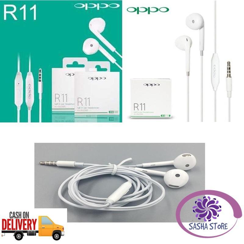 SS Headset OPPO R11 / VIVO R11 / SAMSUNG R11 / Half In-Ear Headphones