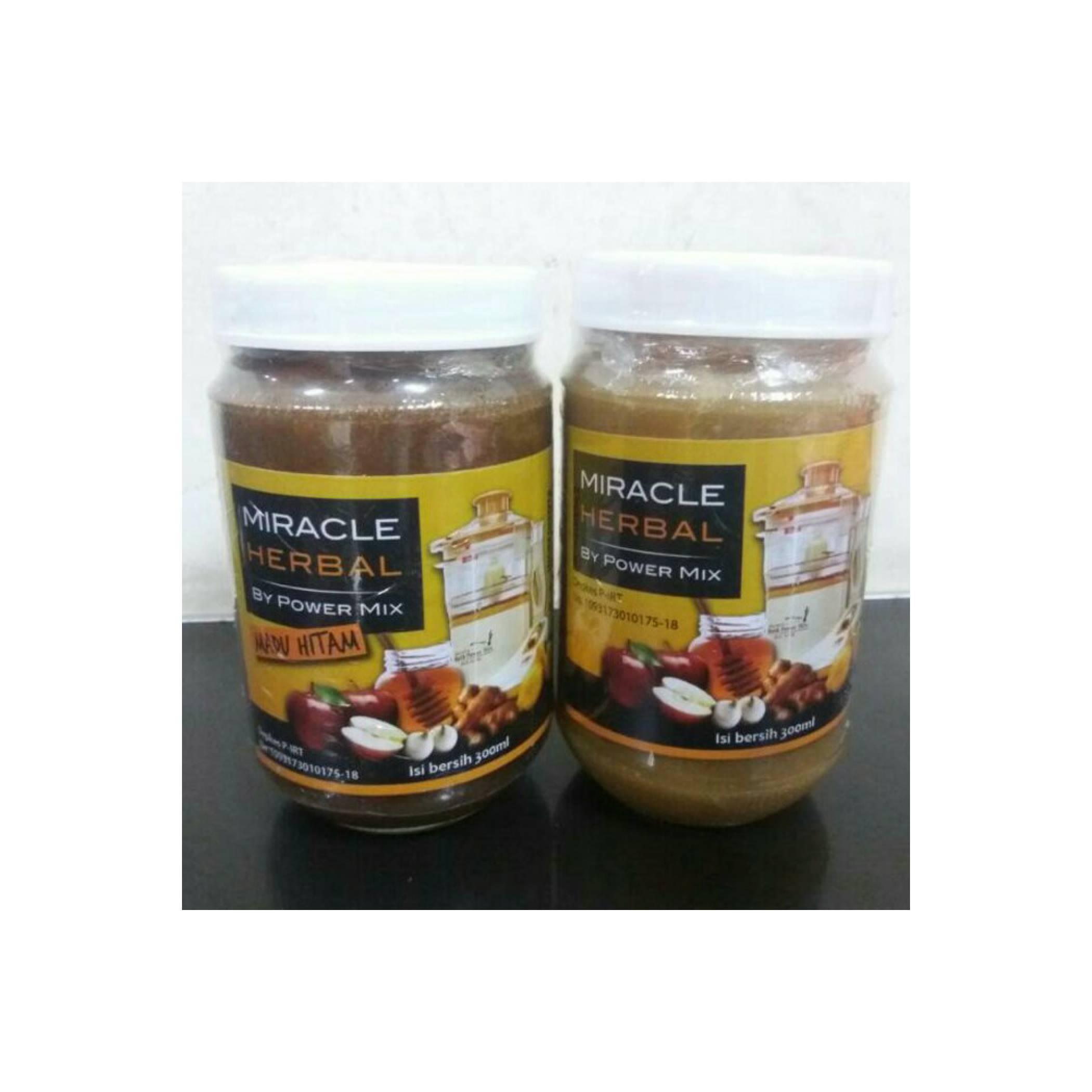 Miracle Herbal By Power Mix Madu Hitam 4 Botol Daftar Harga Bawang Putih Tunggal Jahe Merah Lemon Cuka Apel 625 Ml 6 Bt Detoxificationidr1400000 Rp 1760000