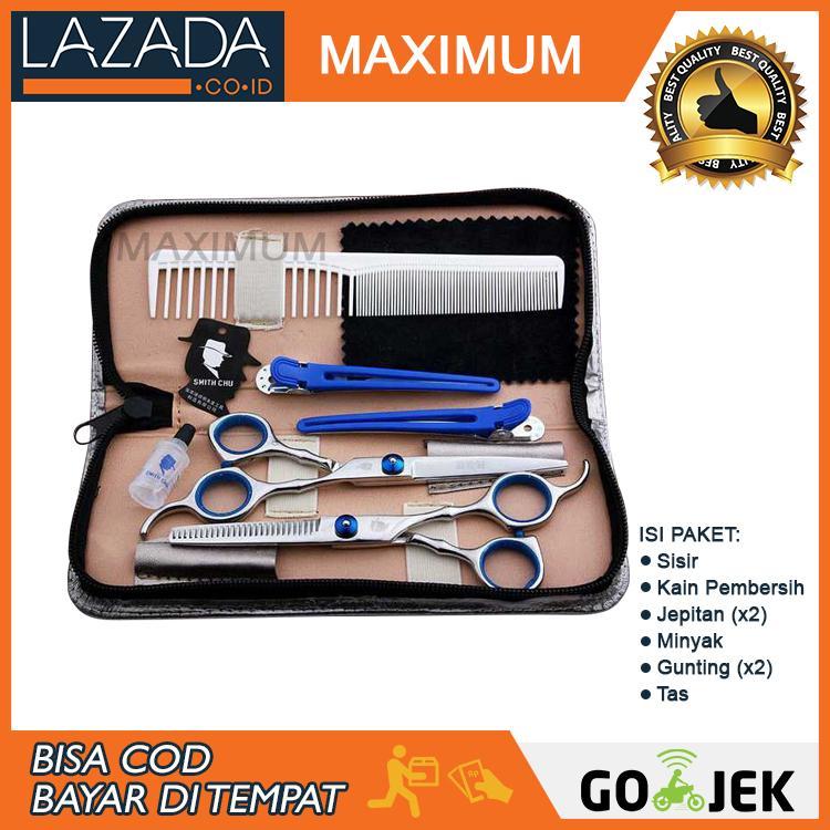 MAX COD - 1 Set alat gunting rambut salon