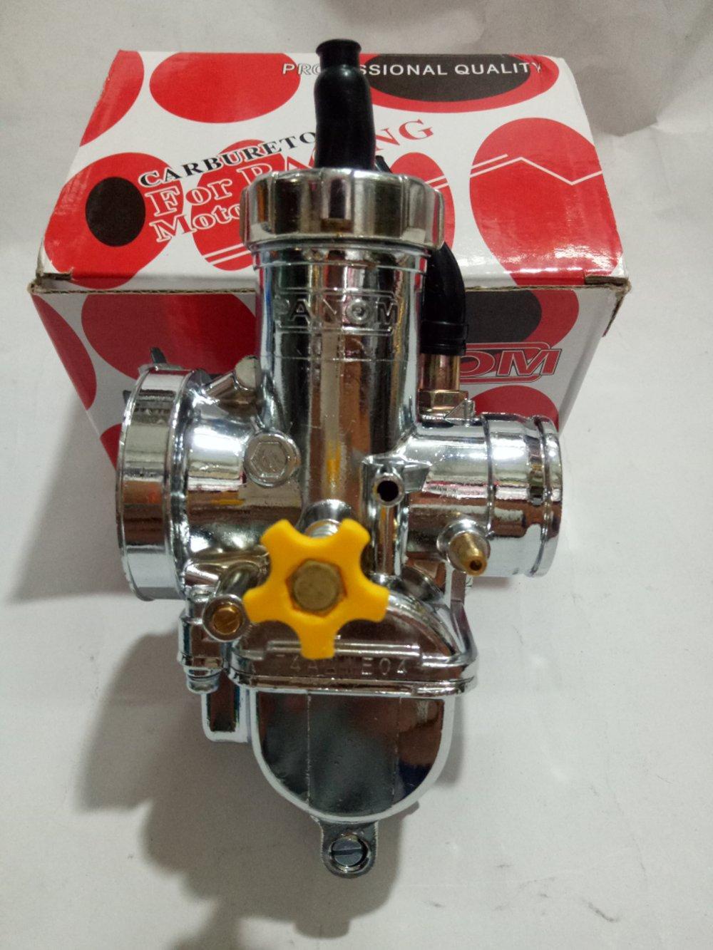 Karburator Pe 28 /  Carburator Pe 28 Panom - Chrome