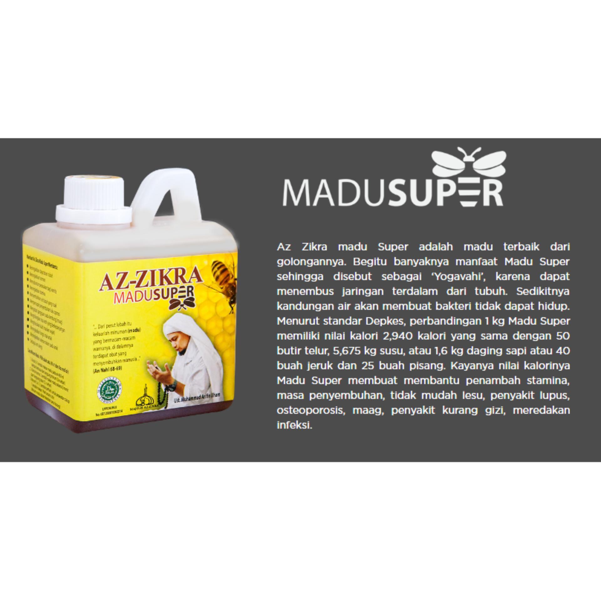 Jual Produk Az Zikra Online Terbaru Di Madu Super 500 Gram Aseli Meningkatkan Stamina Tubuh Dan Segar Bugar Berkah Doa Kh Arifin Ilham