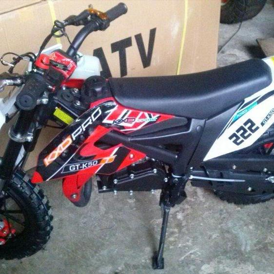 Trail 50cc mesin 2tak type mt4
