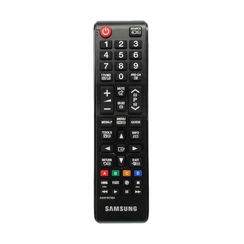 Samsung Remote TV LCD LED - Hitam