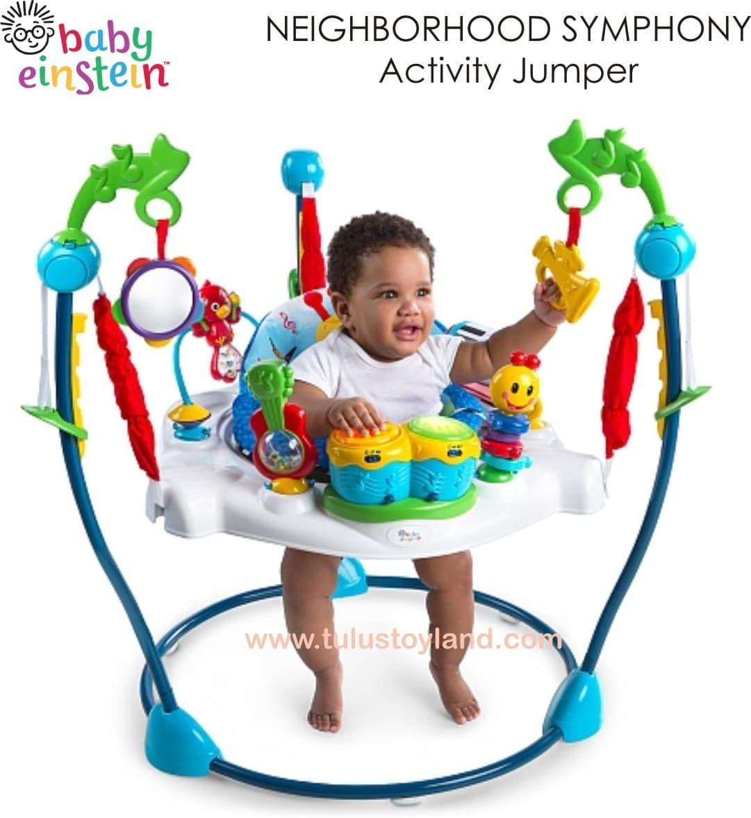 Baby Einstein Jumperoo Neighborhood Symphony Activity Jumper Jumpero