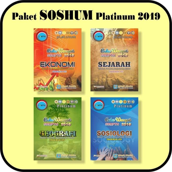 Paket Buku Wangsit Sbmptn 2019 Soshum Platinum By Blamosk Shop.