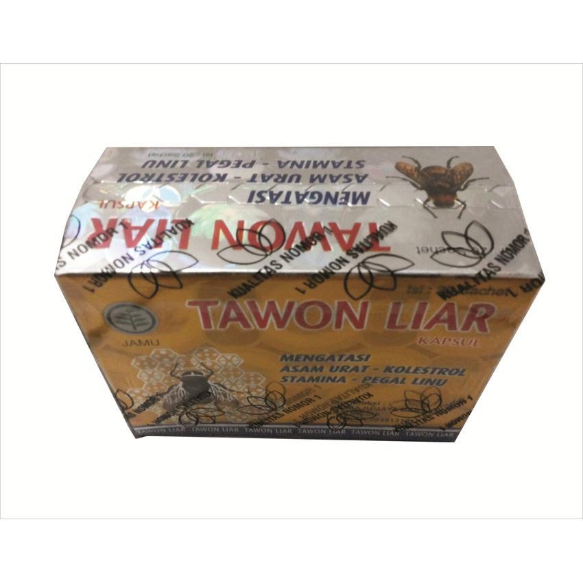 1Box Kapsul Tawon Liar 20 Saset Original