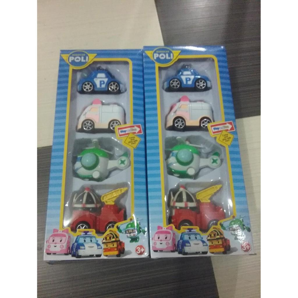 Harga Mainan Anak Figure Robocar Poli 1 Set Isi 4 Pcs Rp 186000