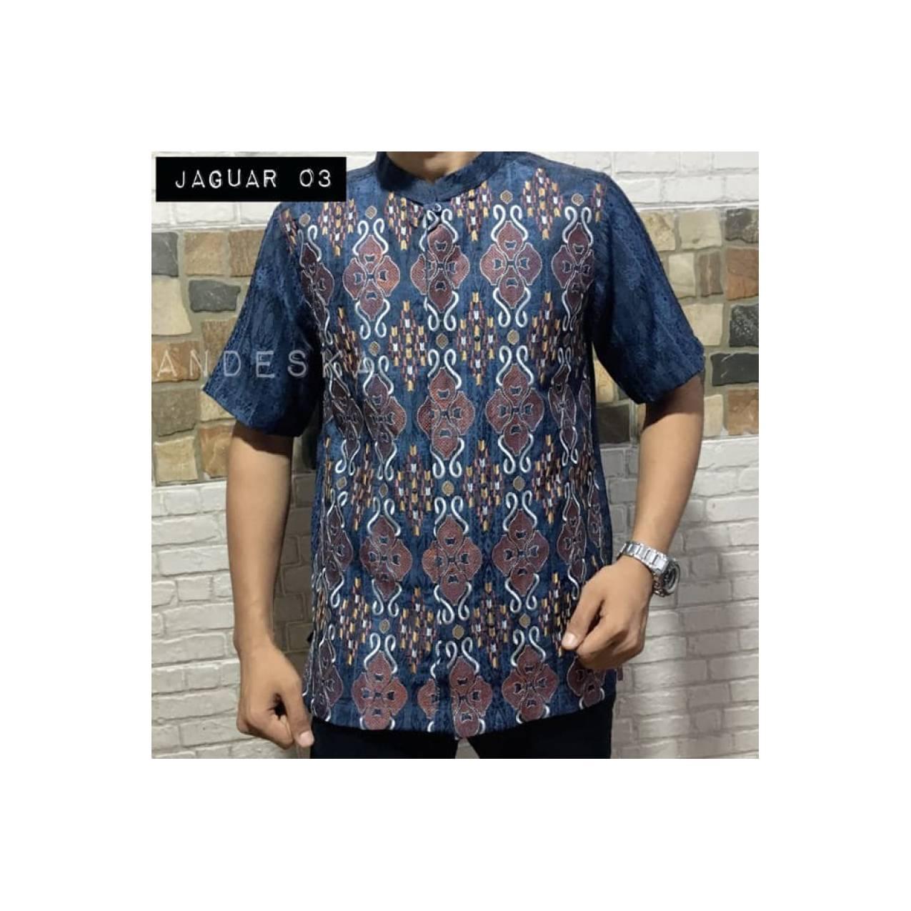 Bajukoko Baju koko terbaru bahan jaguar premium JAGUAR 03 Stok