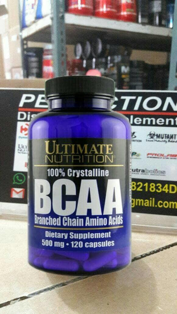 ASLI!!! BCAA 500mg [120caps] UltimateNutrition - t9rB0L