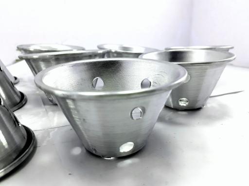 Cetakan Kue Bolu Kukus Aluminium - 3 PCS