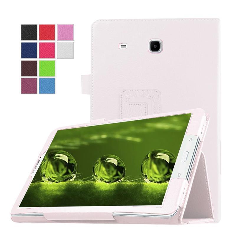 1 Pc/lot Tablet Case untuk Samsung Galaksi Tab 3 7.0 T210 T211 PU Kulit Lipat Case untuk Galaksi Tab 3 7.0 T210 T211 Multi-warna