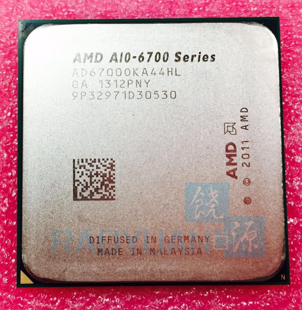 AMD A10-Series A10-6700 A10 6700 A10 6700 K A10-6700K 3.7 GHz 65 W CPU Quad-Core AD6700OKA44HL AD67000KA44HL Socket FM2