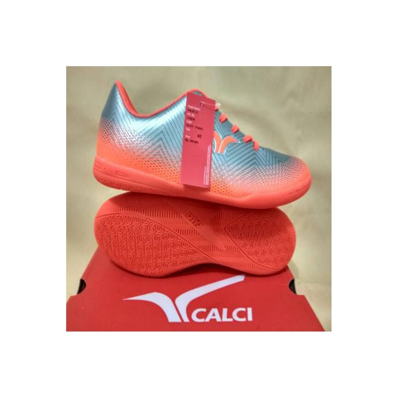 Sepatu Futsal Calci Rage silver