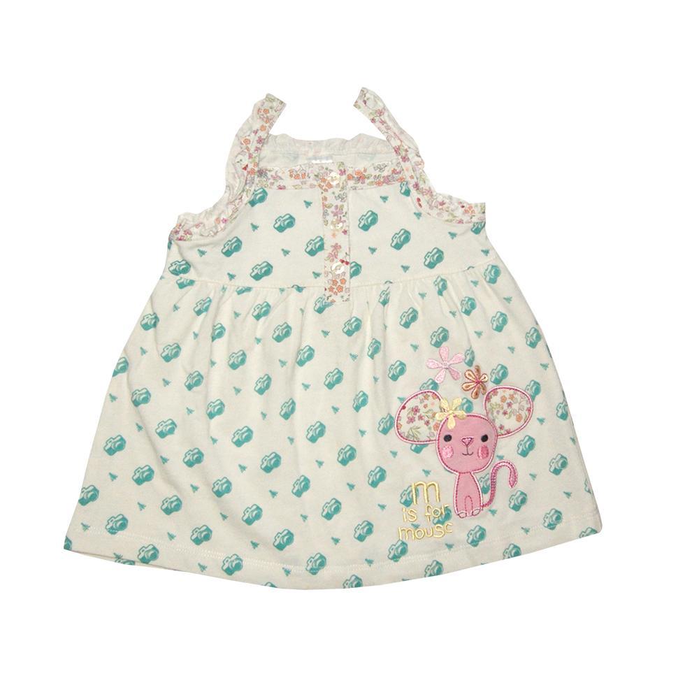 Bearhug Dress Bayi Perempuan 6M Dot-dot Besar Renda PutihIDR79900. Rp 79.900