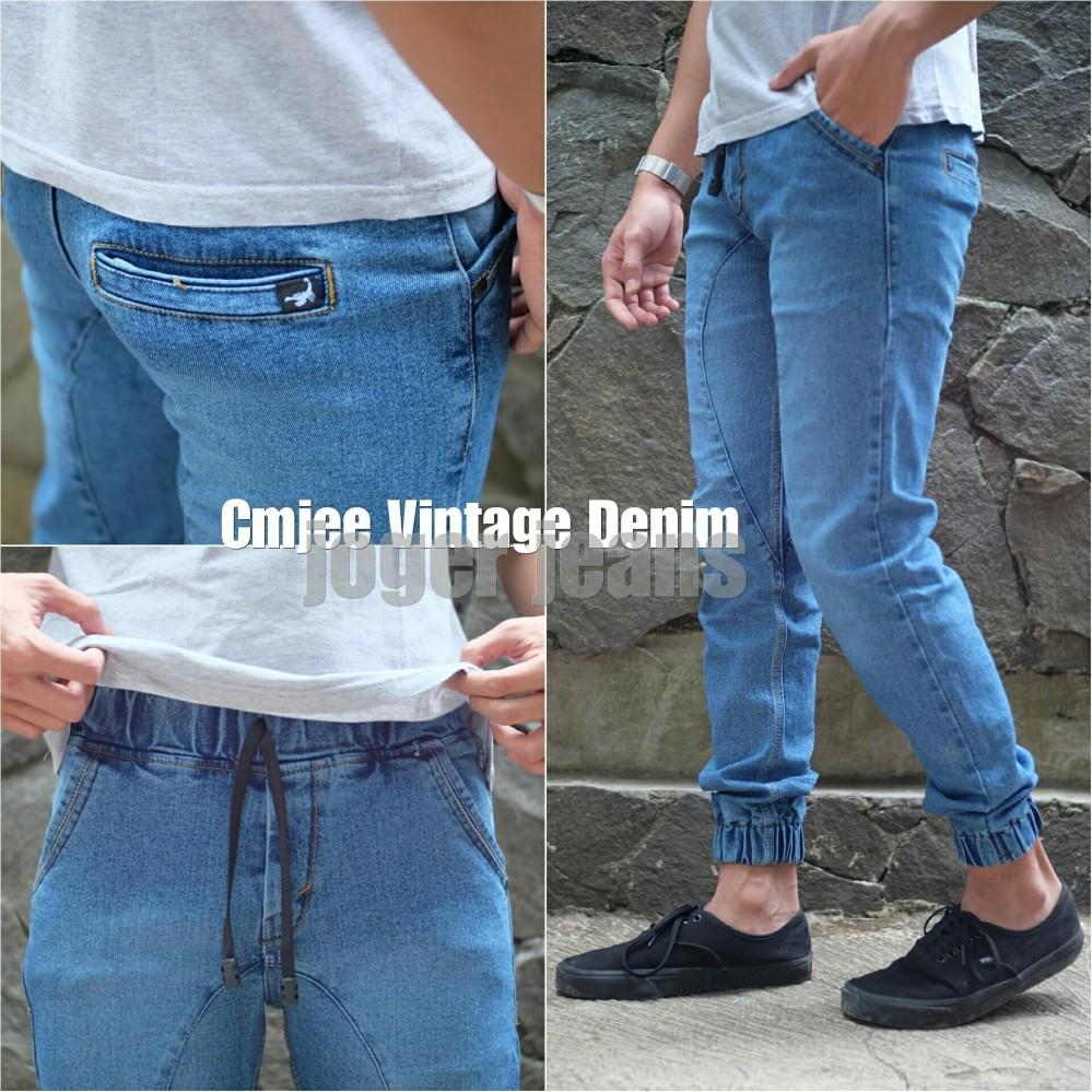Celana joger jeans pria distro good quality