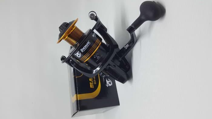 REEL PIONEER BLACK CAT PRO 6 BEARING ALUMINIUM SPOOL BCP-5000i (stok Terbatas )