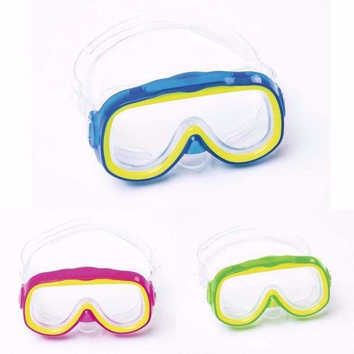 Bestway Hydro Force Explora Swim Mask / Masker Kacamata Renang Anak - Merah Muda