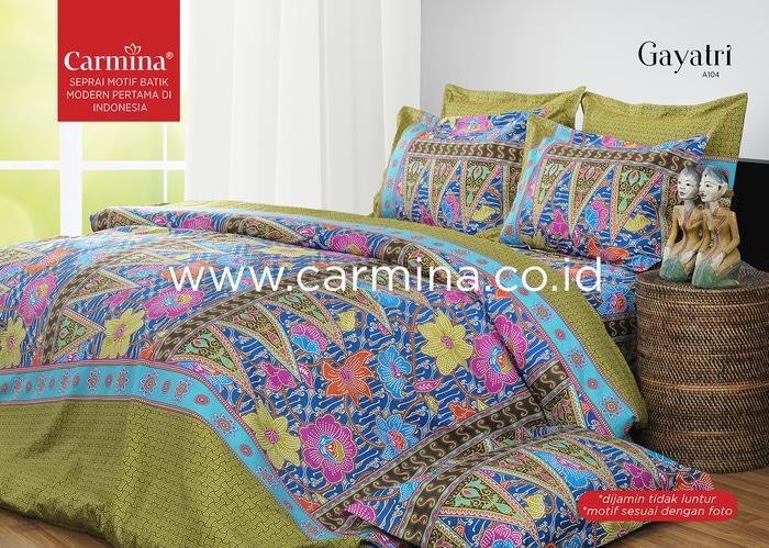 Sprei Carmina Batik Gayatri No.1 King 180 Seprai Sprai Bantal Guling By Yalstore.