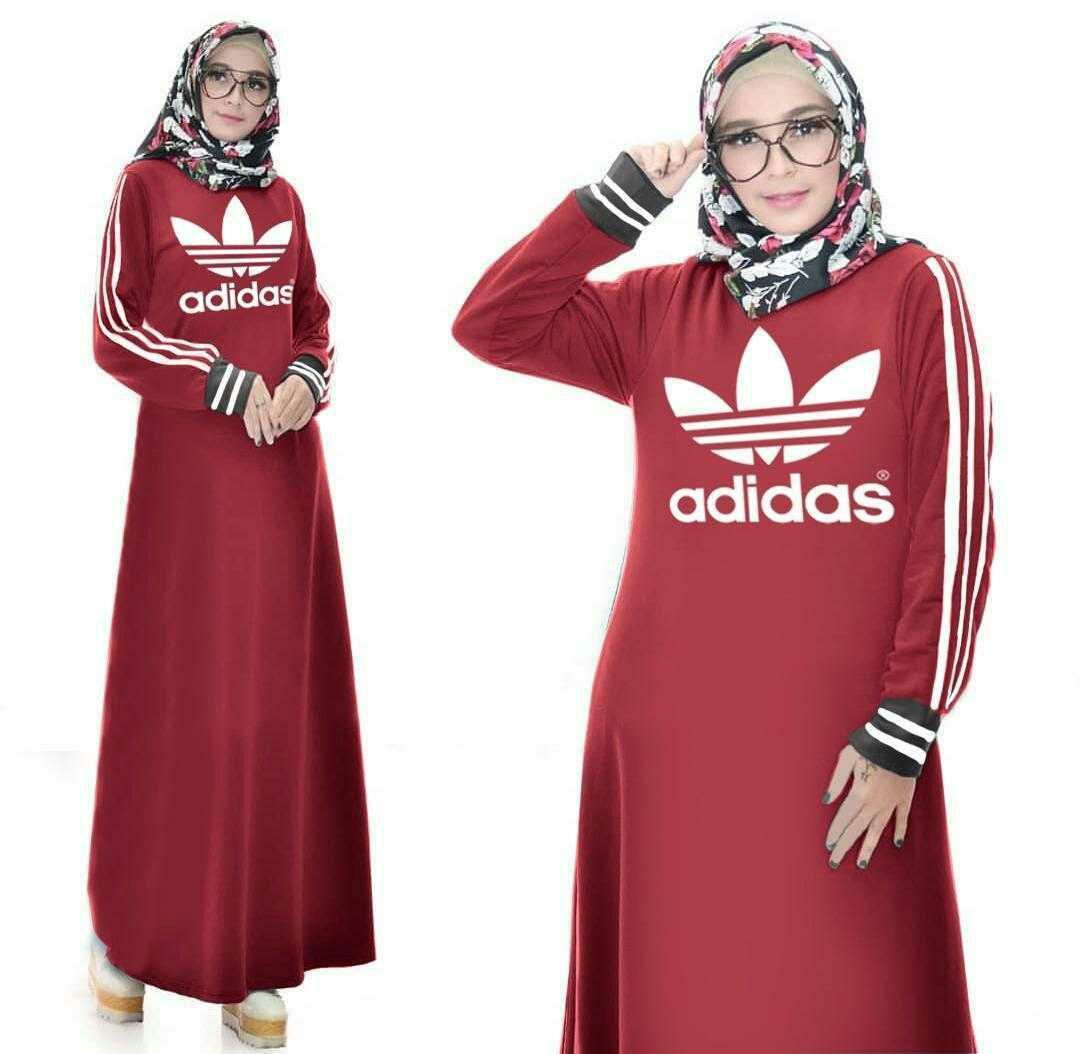 Buy Sell Cheapest Promo Baju Pesta Best Quality Product Deals Dress Setelan Avina Mocca Elia Muslim Gamis Wanita