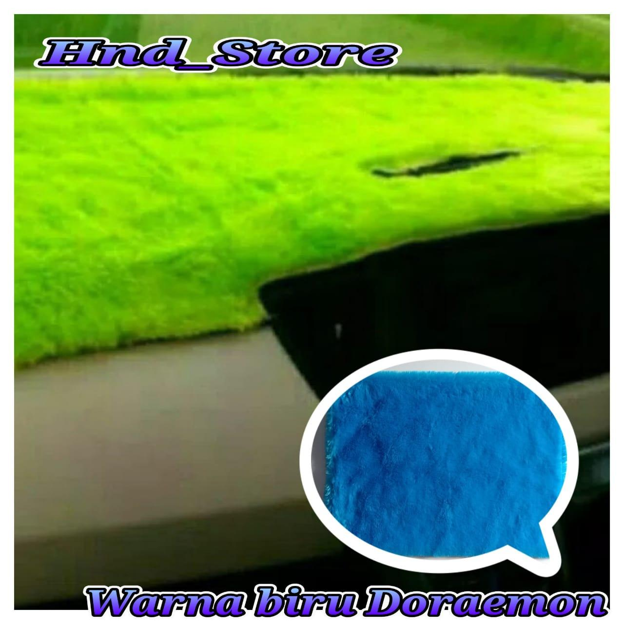 COVER BULU DASHBOARD MOBIL (WARNA BIRU LAUT)
