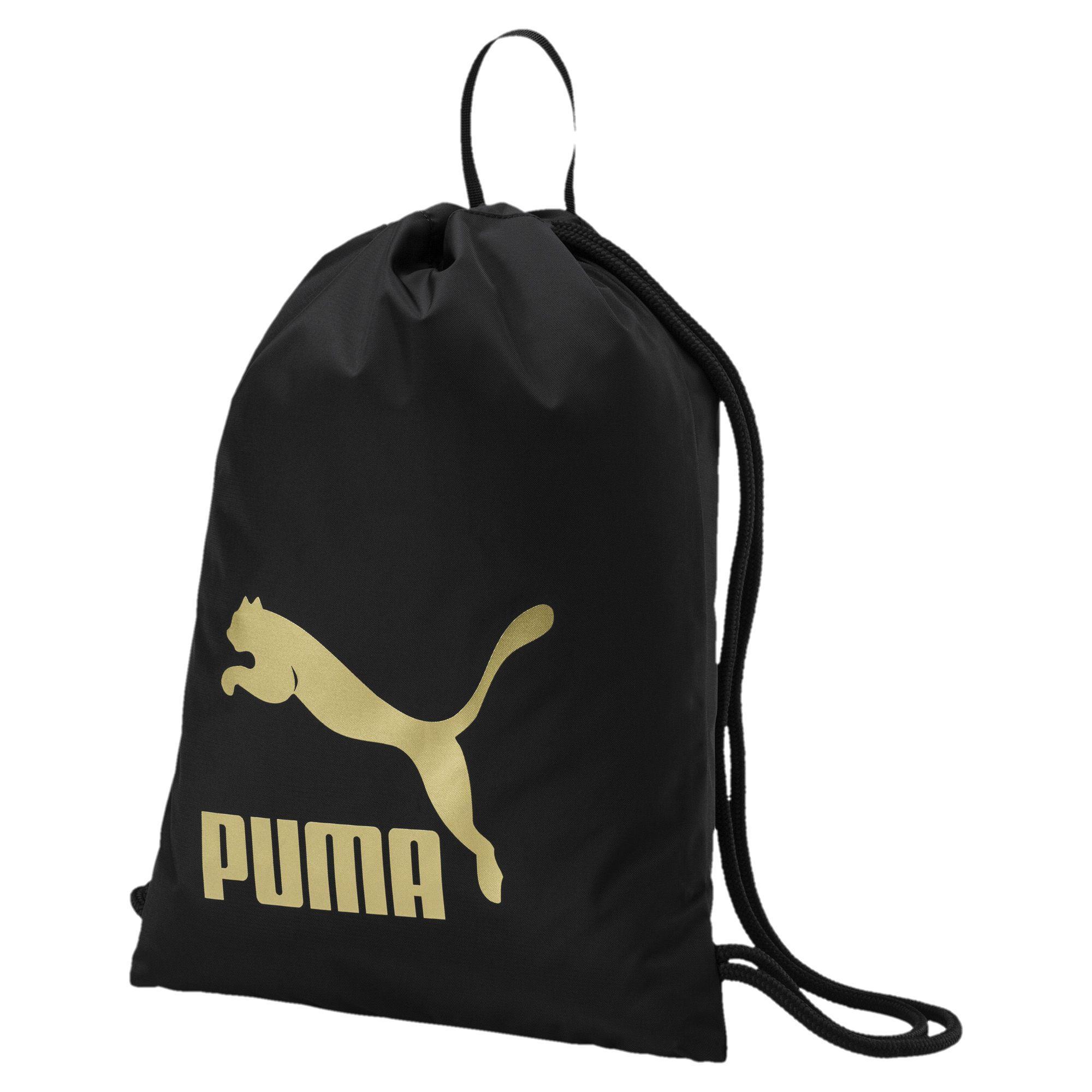 Puma Tas Gymsack Originals - 07481209 - Hitam By Sarangsepatu.