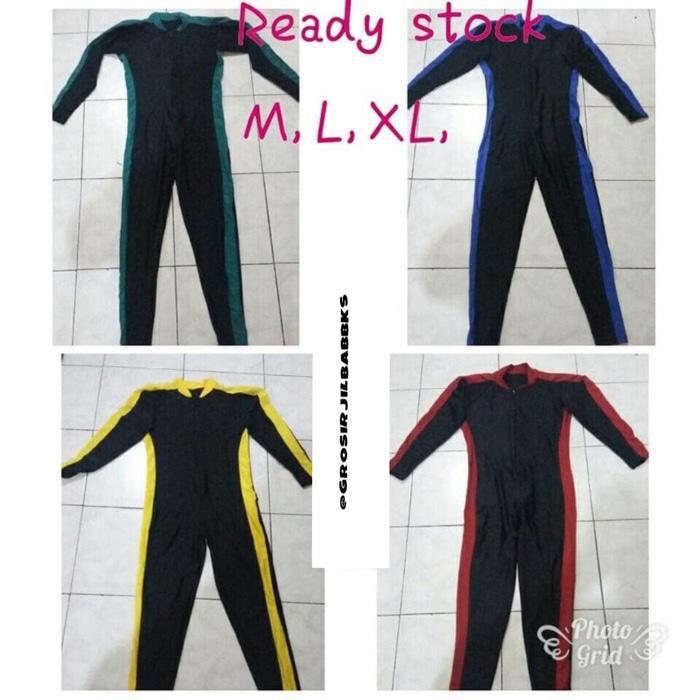 ASLI!!! Baju renang diving panjang / selam elastis untuk dewasa pria wanita - x89Zor