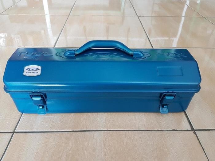 ORIGINAL - TOYO Y-410 Tool Box Besi 1 susun made japan / kotak