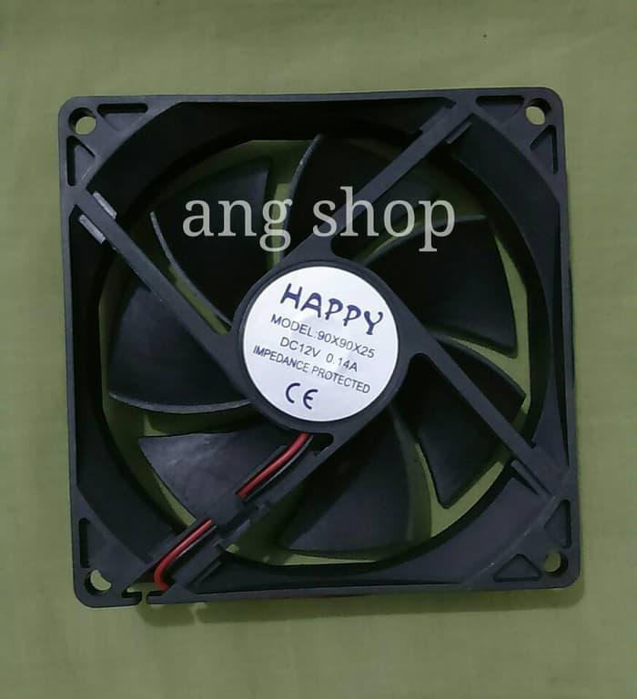 Hot Item!! Fan Dc Kipas Cooling Fan 12V 9Cm (9X9 Cm) - ready stock