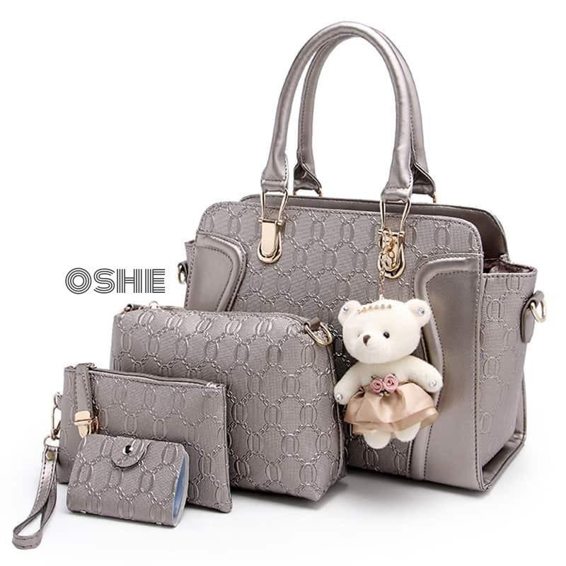 Tas wanita/ Handbag 4 in 1 Despasito/ Tas selempang murah