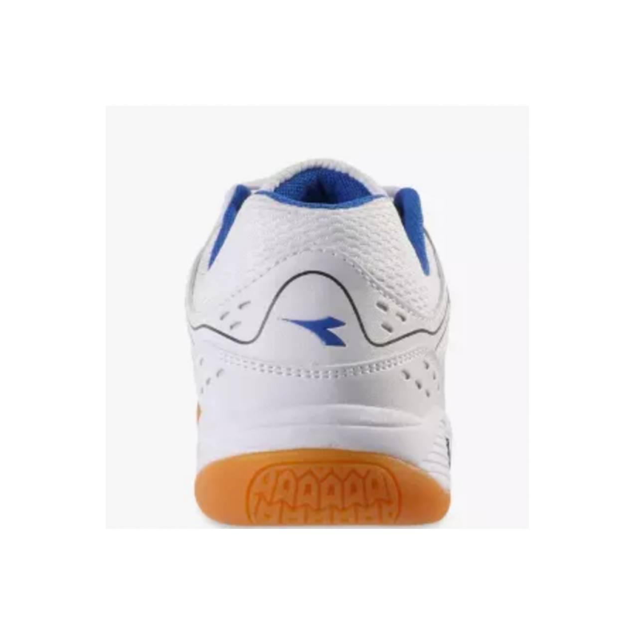 Sepatu DIADORA MARIN, White Blue DIAID7309WBL, Sepatu Badminton