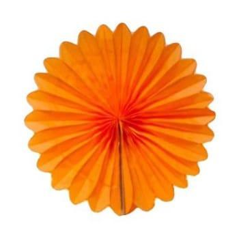 Paper fan dekorasi/Tissue paper fan 20cm/kertas krep kipas