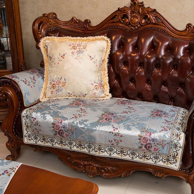 Pedesaan empat musim Kain model Eropa penutup sofa minimalis handuk Anti Selip