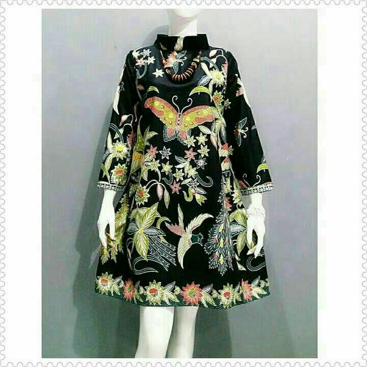 Atasan Batik Wanita   Atasan Wanita   Baju Batik Wanita   tunik   Baju Kerja    b04b9baa73