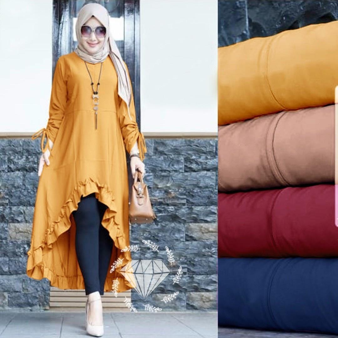 Fashion Wanita Terlengkap Terbaik Tunik Baju Atasan Sabrina Sweater Maelo Maroon Kuu Ps Love Pakaian Muslim