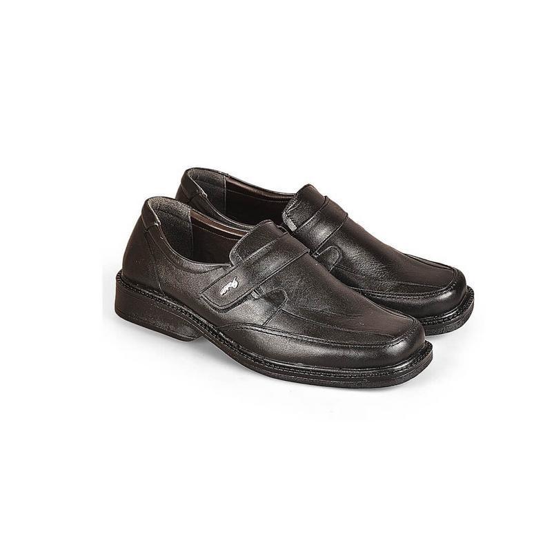 CBR SIX Sepatu Pantofel Pria Hitam  - RHC 800