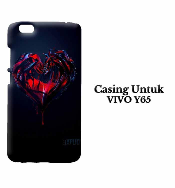 Casing Vivo Y65 explicit f1s Custom Hard Case Cover
