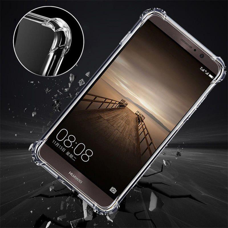 MR Jelly Case tpu anti shock anti crack tahan benturan for Huawei y3 2017 - bening